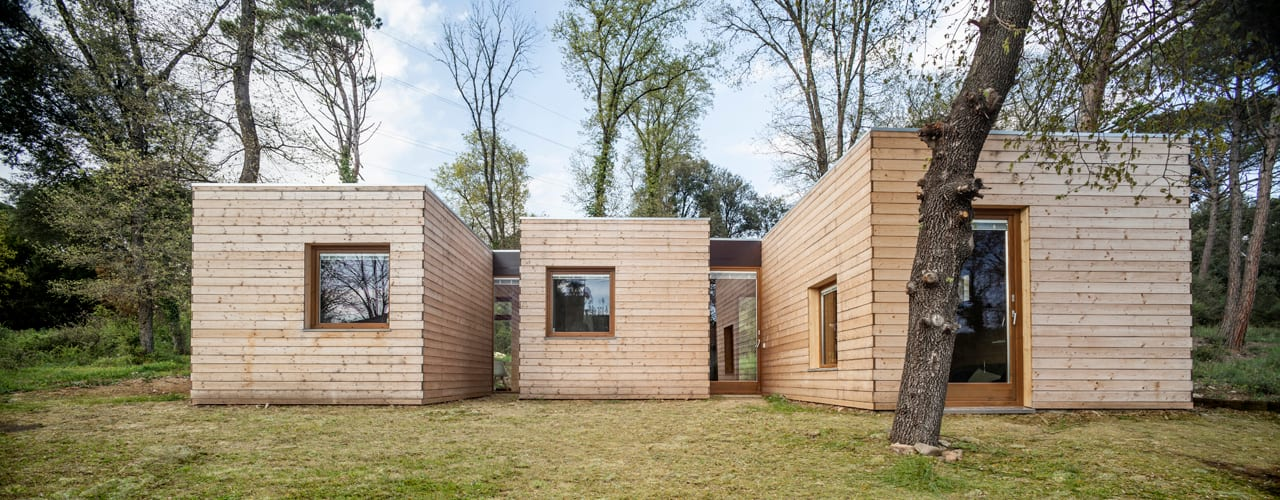 Casa GG Nowoczesne domy od Alventosa Morell Arquitectes Nowoczesny