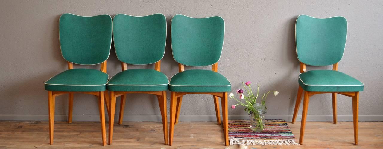 """Chaises vintage """"Paloma"""":  de style  par Atelier Belle Lurette"""