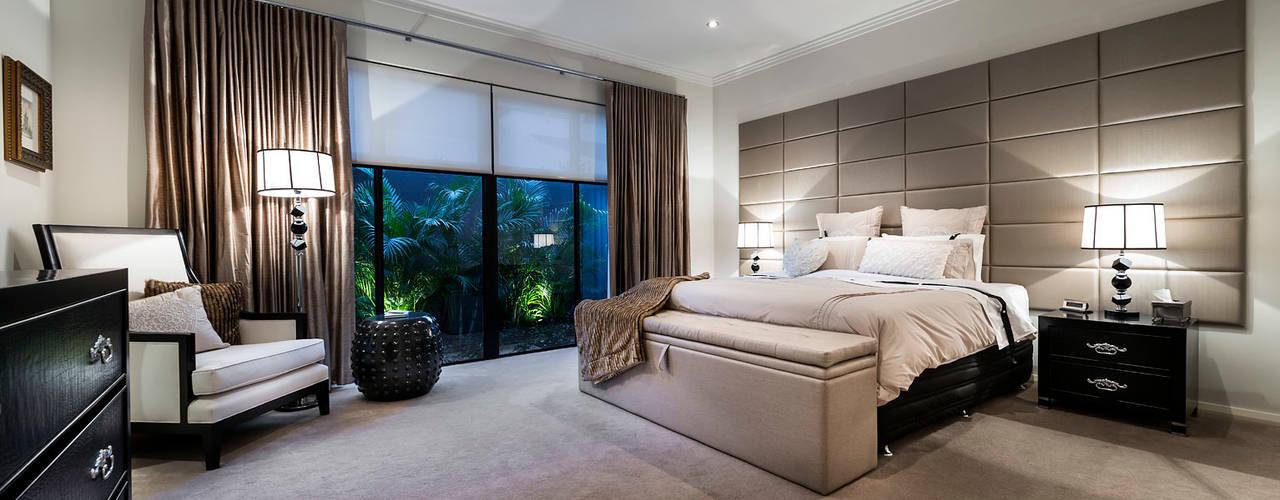 Floreat Residence, Perth, Western Australia Cuartos de estilo moderno de Moda Interiors Moderno