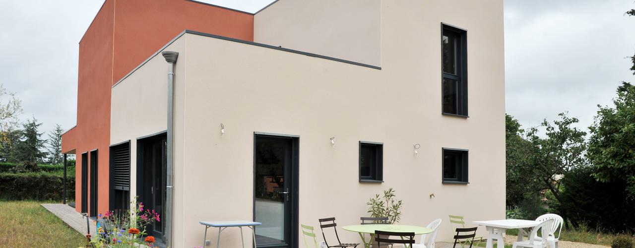 Modern houses by Empreinte Constructions bois Modern