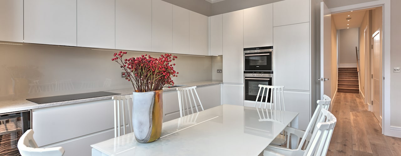 Queens Gate Place, South Kensington, London, SW7 by Temza design and build