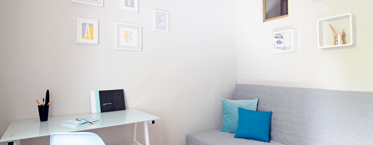 POKÓJ NR 2 PO METAMORFOZIE: styl , w kategorii Salon zaprojektowany przez Better Home