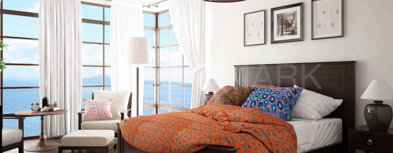 Habitaciones de estilo mediterráneo por NEUMARK