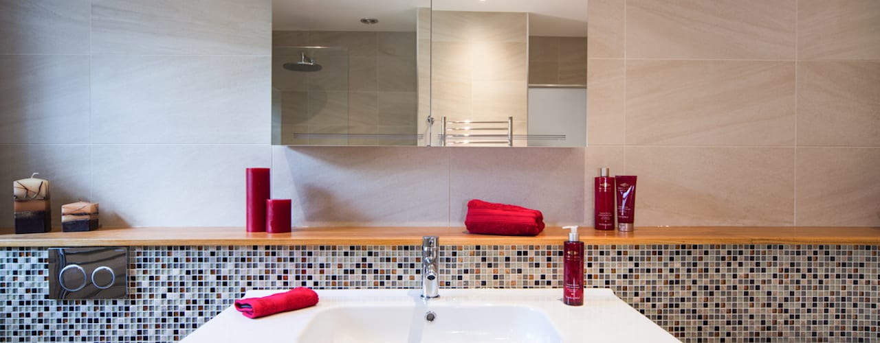 Mr & Mrs G, Woking Baños modernos de Raycross Interiors Moderno