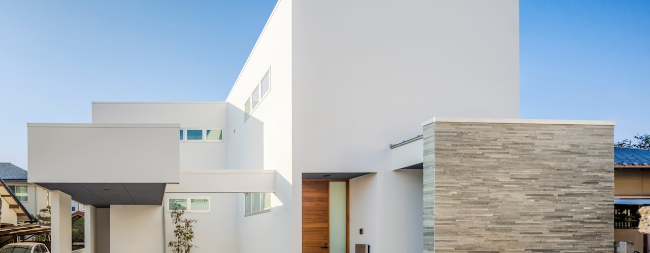 Casas de estilo moderno de 株式会社細川建築デザイン Moderno