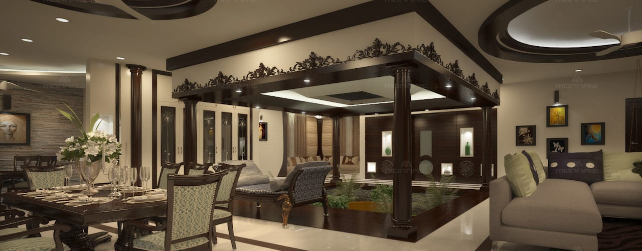 A Luxurious And Traditional Family Home In Kerala Homify Homify
