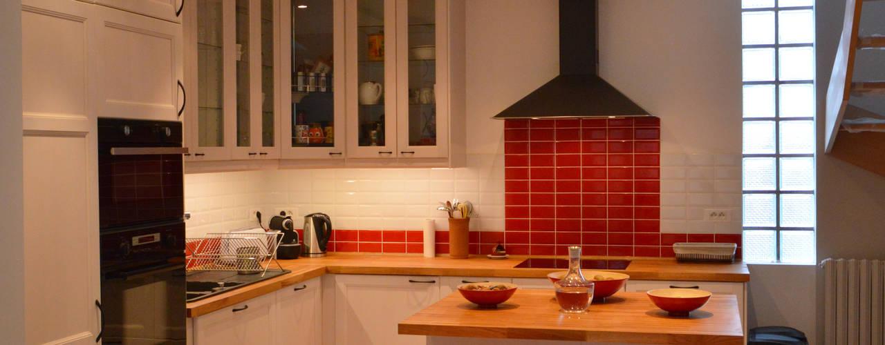 Vorher Nachher Altmodische Küche Erstrahlt Im Neuen Retro Chic