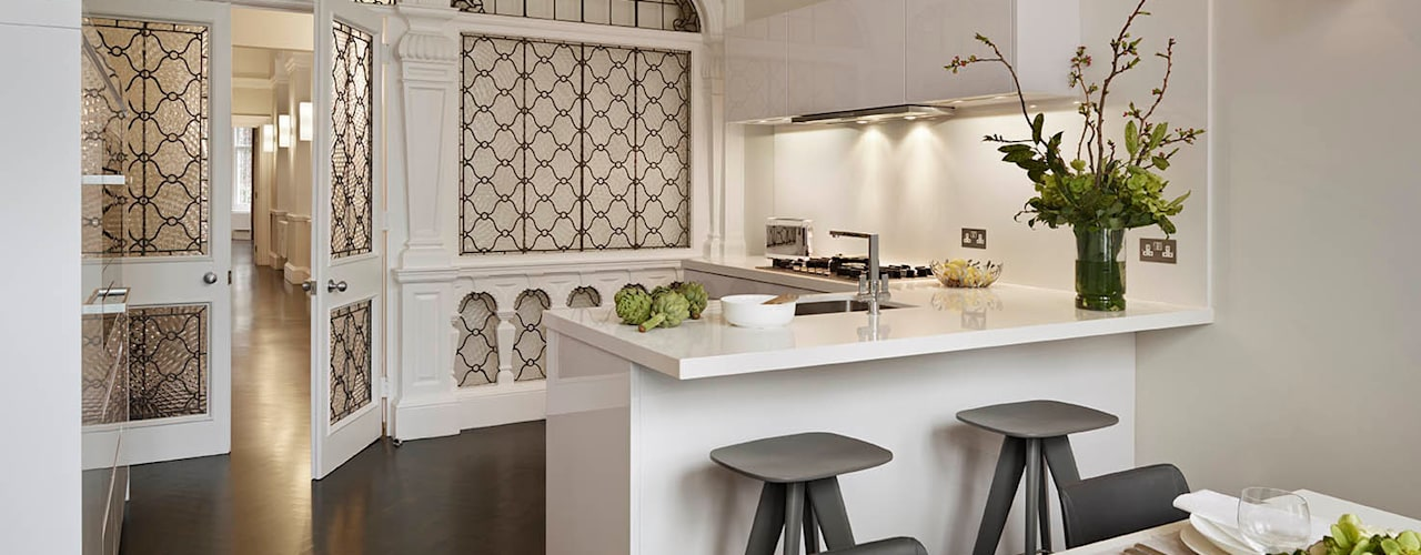London Charm Cocinas modernas: Ideas, imágenes y decoración de Elan Kitchens Moderno