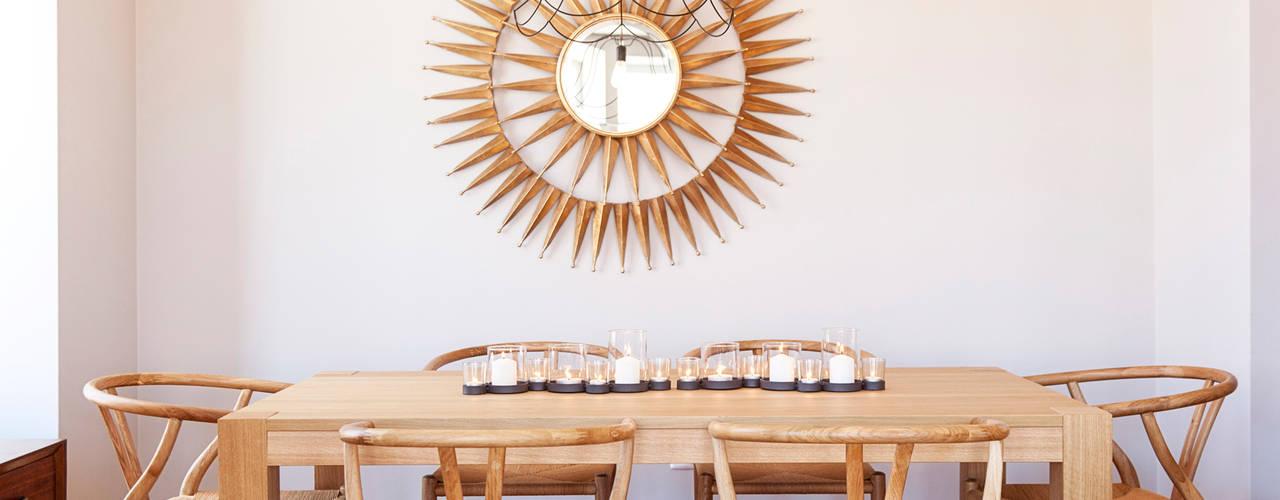 Decoração de apartamento particular Salas de jantar modernas por Staging Factory Moderno