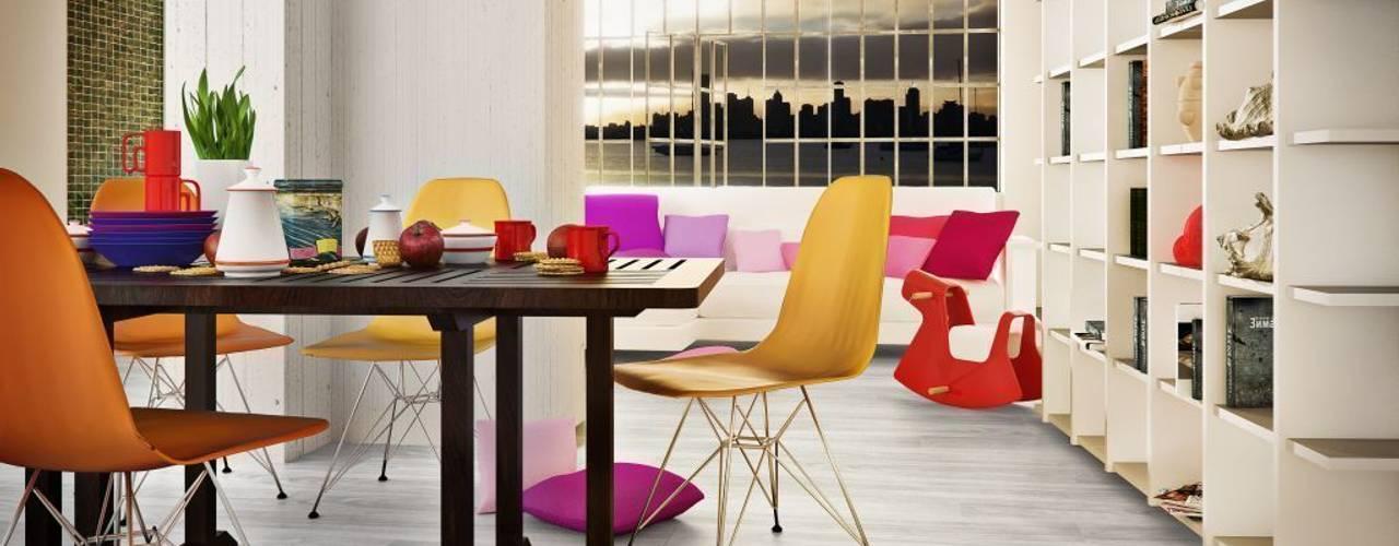 ELEGANCE, Lamas vinílicas imitación madera y mineral Comedores de estilo minimalista de Supreme Floors Ibérica S.L. Minimalista