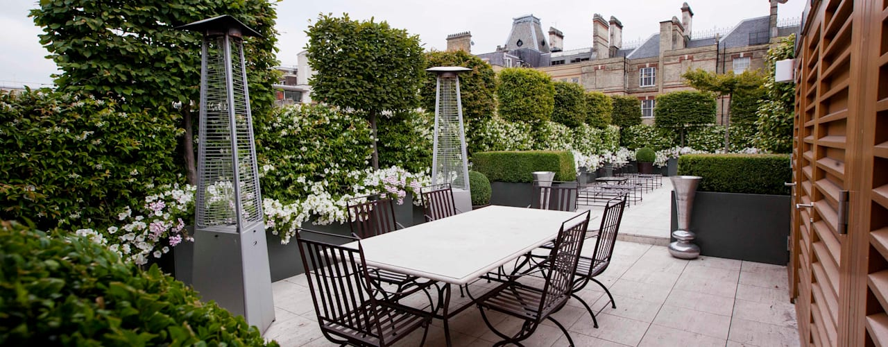 Belgravia Roof Terrace:  Garden by Cameron Landscapes and Gardens, Modern