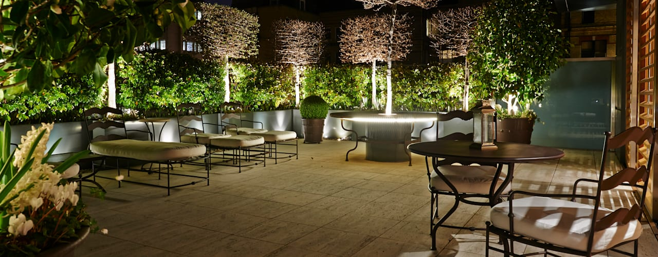 Belgravia Roof Terrace by Cameron Landscapes and Gardens Сучасний