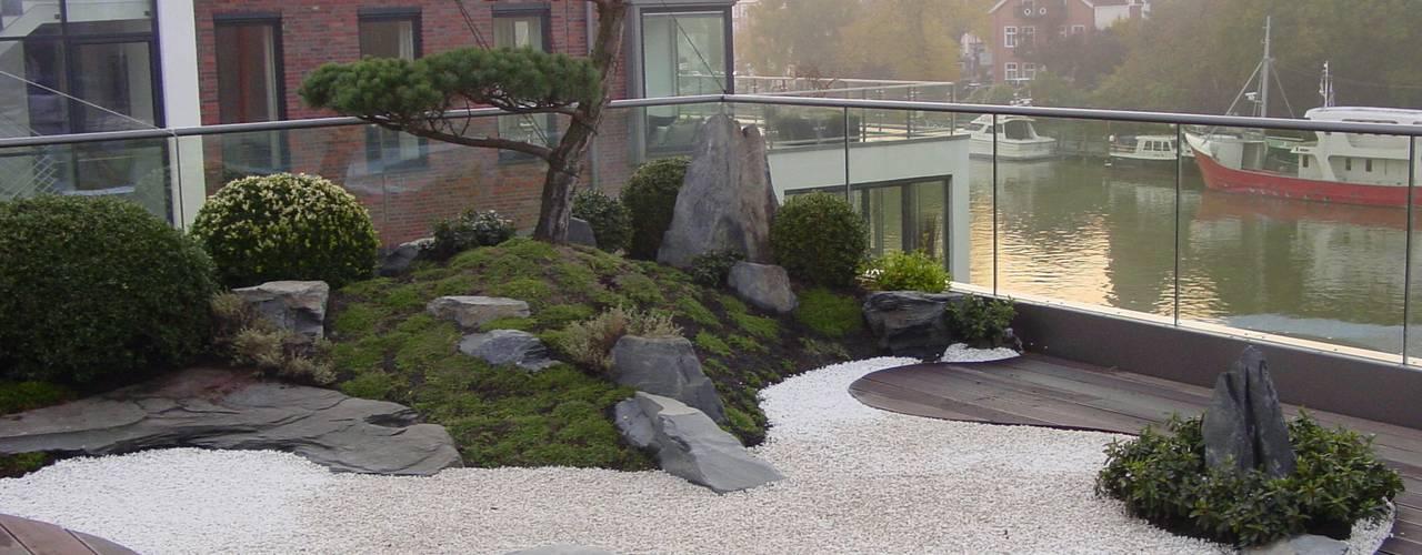 Jardines de estilo  por japan-garten-kultur, Asiático