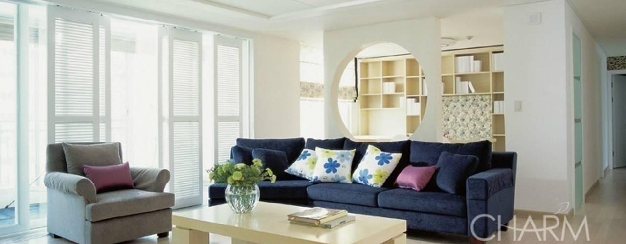 Living room by 참공간 디자인 연구소