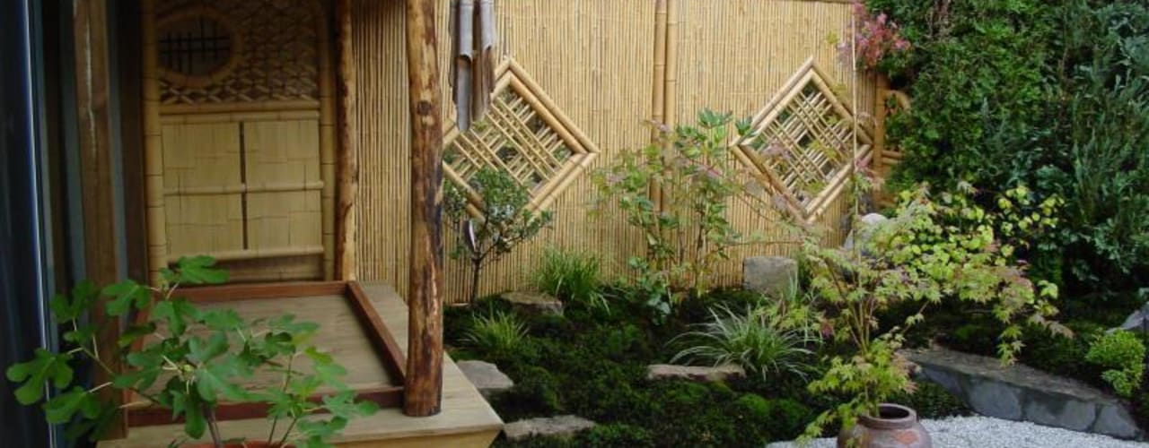 Asian style gardens by Kokeniwa Japanische Gartengestaltung Asian