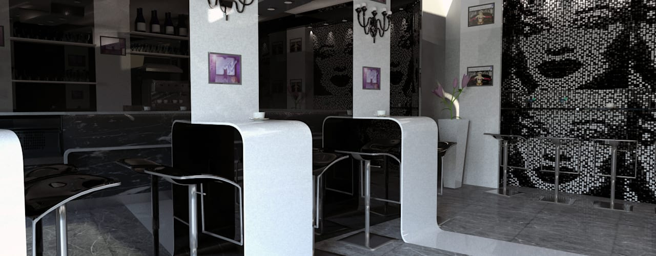 Bares y discotecas de estilo  por Dadesign Interior Designer