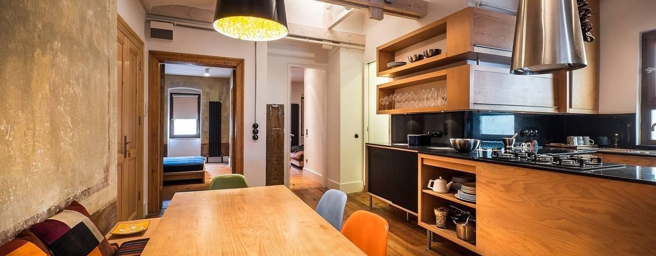 Gabriel Apartment Modern Mutfak Atelye 70 Planners & Architects Modern