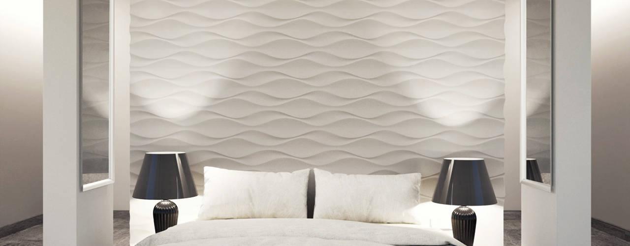 클래식스타일 침실 by Loft Design System Deutschland - Wandpaneele aus Bayern 클래식