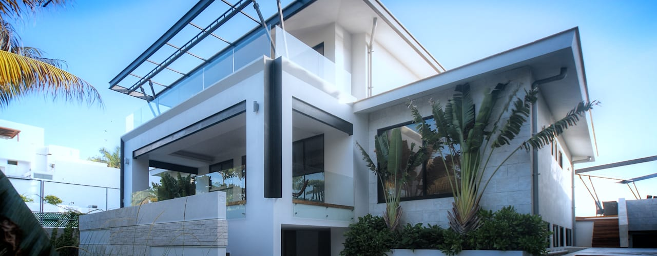 Villa oleh sanzpont [arquitectura], Modern