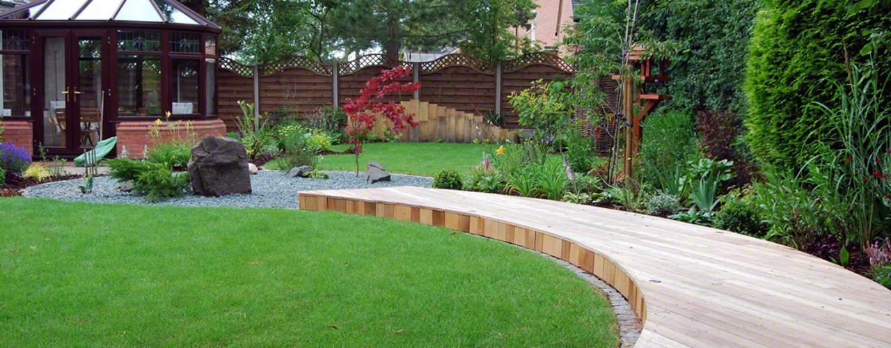 A Peaceful Zen-Style Garden Asyatik Bahçe Lush Garden Design Asyatik