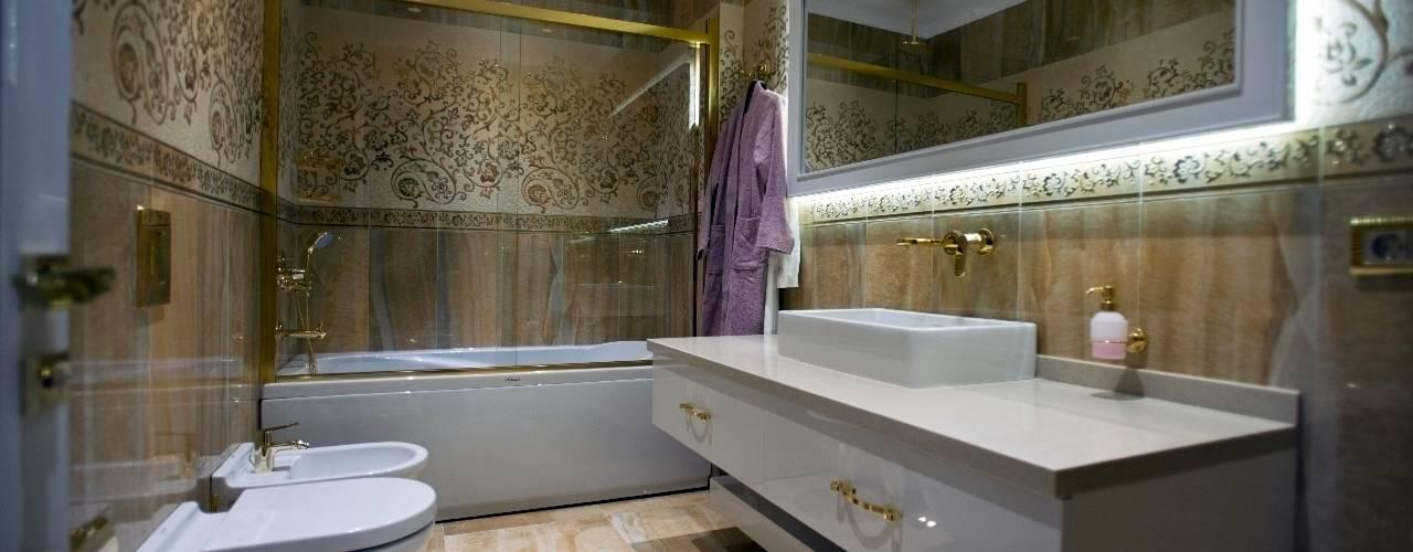 Bathroom by BABA MİMARLIK MÜHENDİSLİK, Modern
