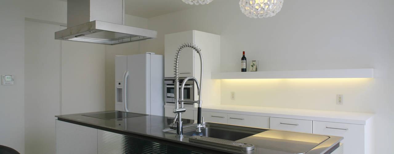キッチン: IMUが手掛けたキッチンです。
