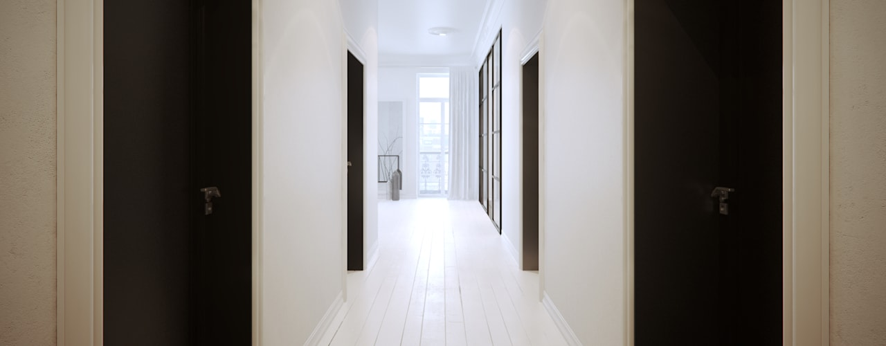 Corridor & hallway by OFD architects, Minimalist