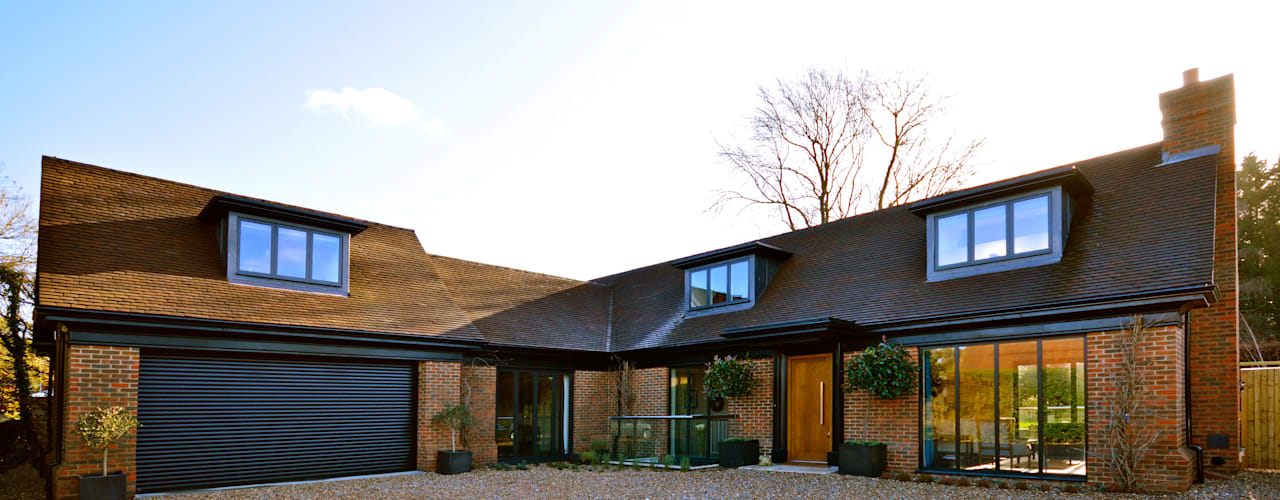 Orchard End Modern houses by Zodiac Design Modern