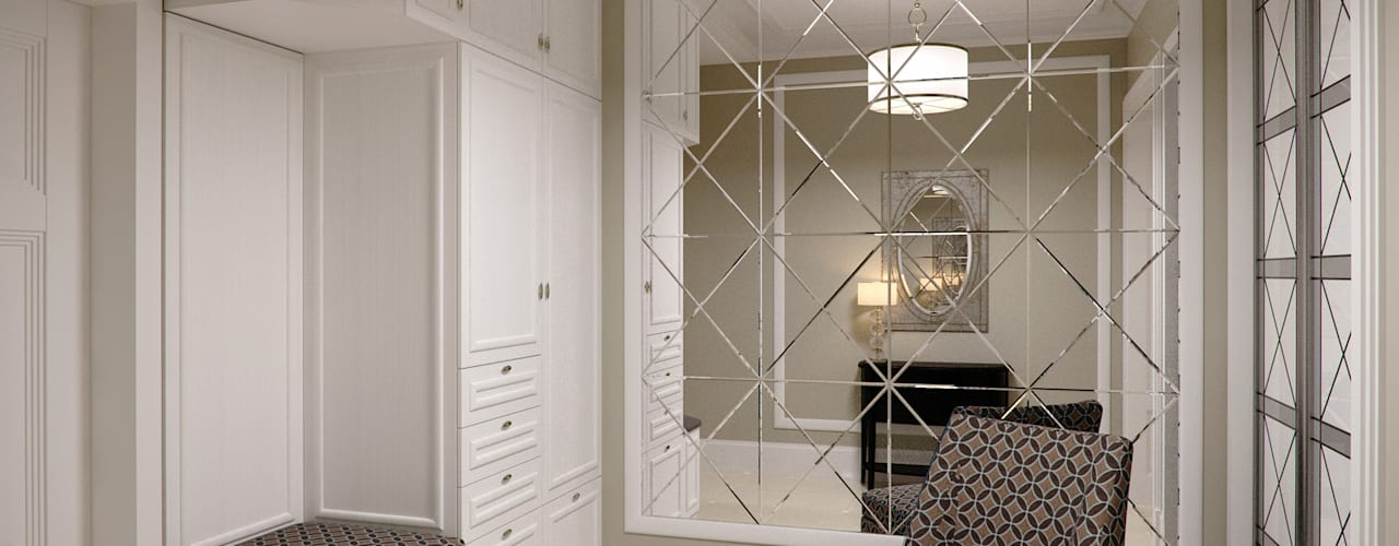 Дизайн интерьера квартиры в Казани Коридор, прихожая и лестница в модерн стиле от Студия Искандарова Модерн