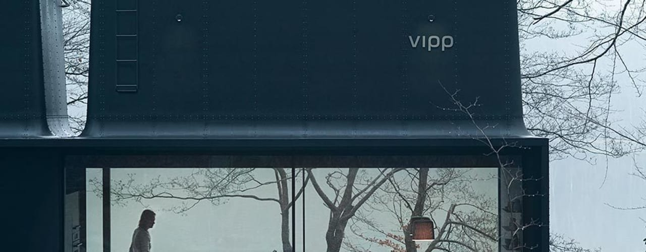 Vipp Shelter 根據 Vipp 工業風