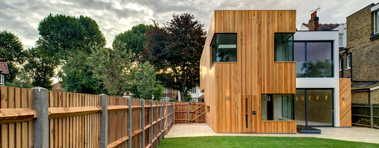 Tetris, Park Road:  Houses by MZO TARR Architects