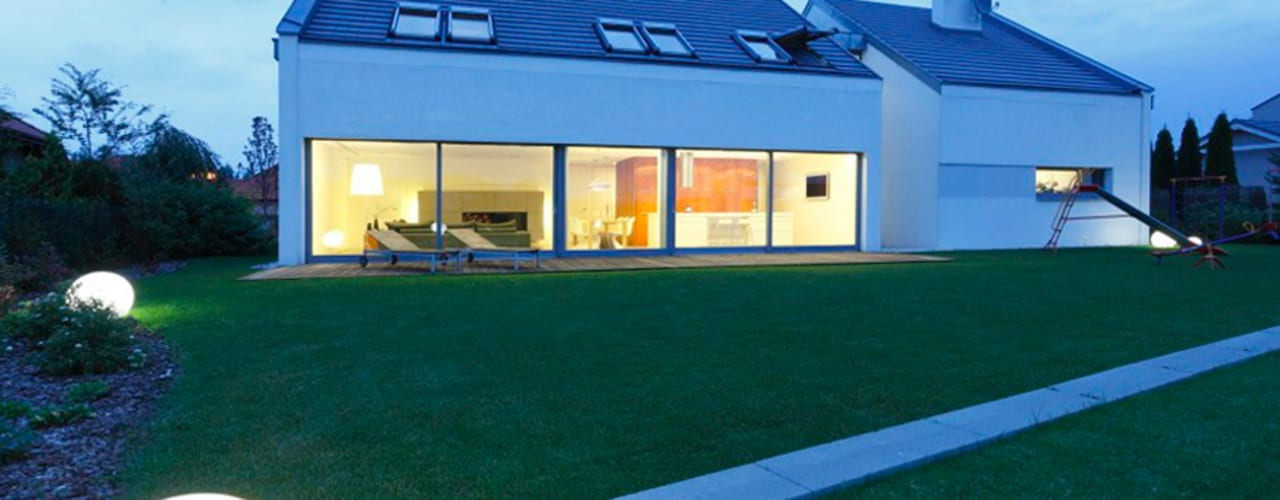 Huizen door PL.architekci, Minimalistisch