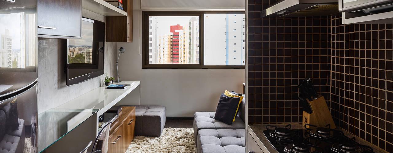 Apartamento LP: Cozinhas modernas por BEP Arquitetos Associados