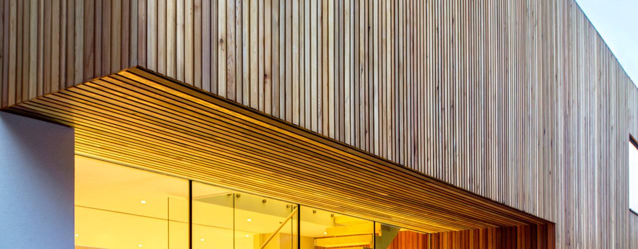 Tetris, Park Road Casas modernas por MZO TARR Architects Moderno