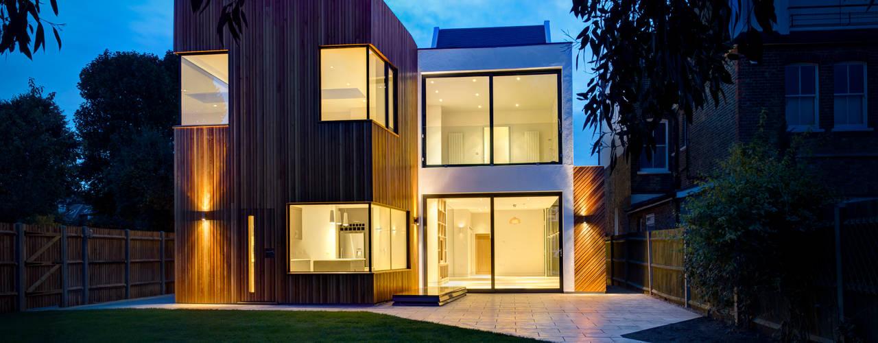 Tetris, Park Road:  Houses by MZO TARR Architects