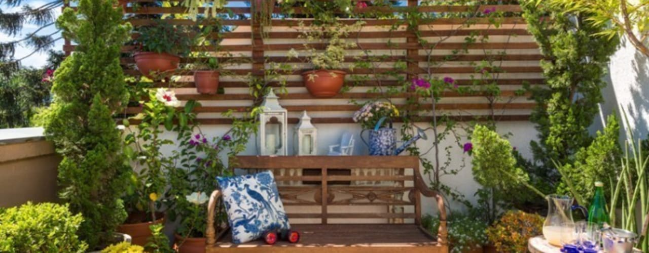 Garden by Blacher Arquitetura, Eclectic