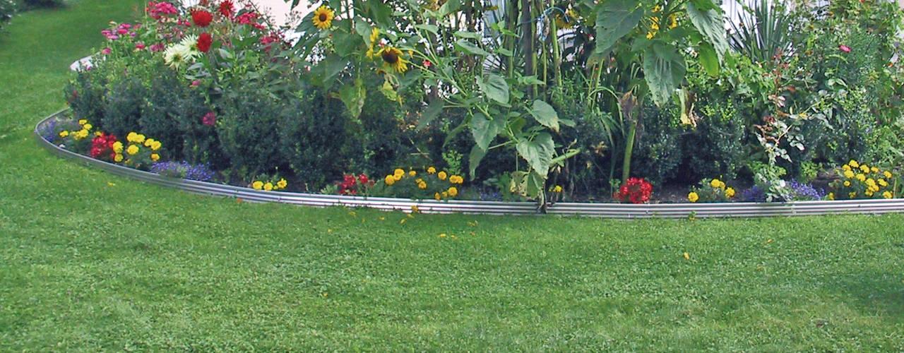 Gartenprofil 3000 - Rasenkanten für Privat & Profi Moderner Garten von terra-S GmbH Modern