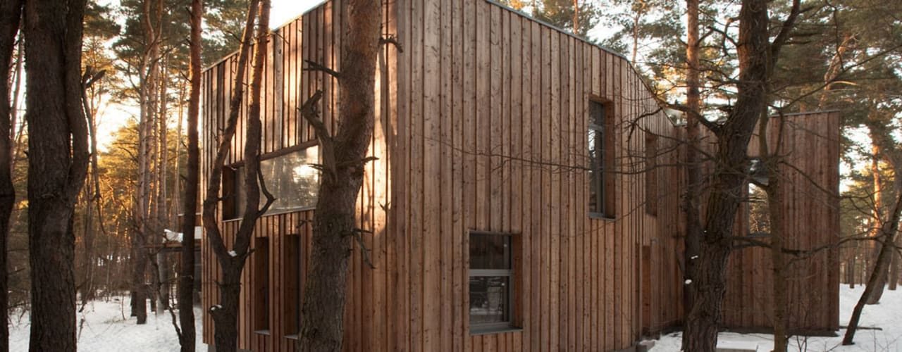 Houses by ANONIMOWI ARCHITEKCI