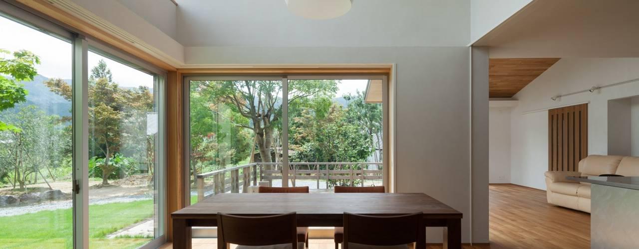 耳納の家 オリジナルデザインの ダイニング の ろく設計室 オリジナル