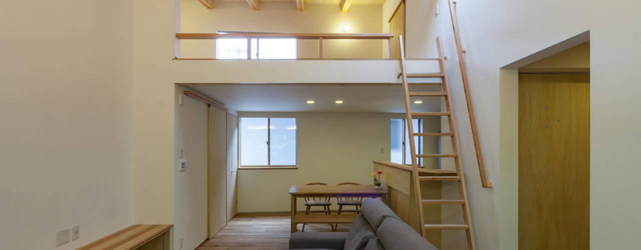 光風舎1級建築士事務所 ห้องนั่งเล่น