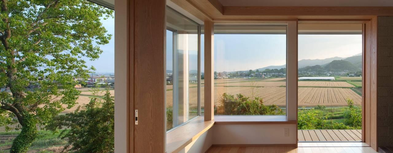 庚申堂の家: ろく設計室が手掛けたテラス・ベランダです。,オリジナル