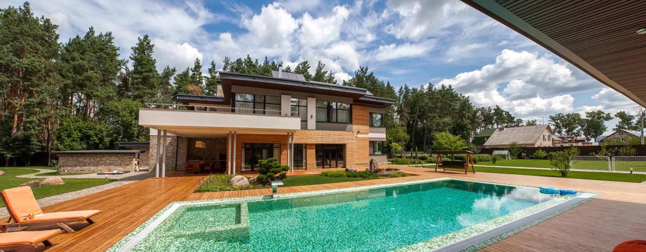 Casas de estilo minimalista de MARTINarchitects Minimalista