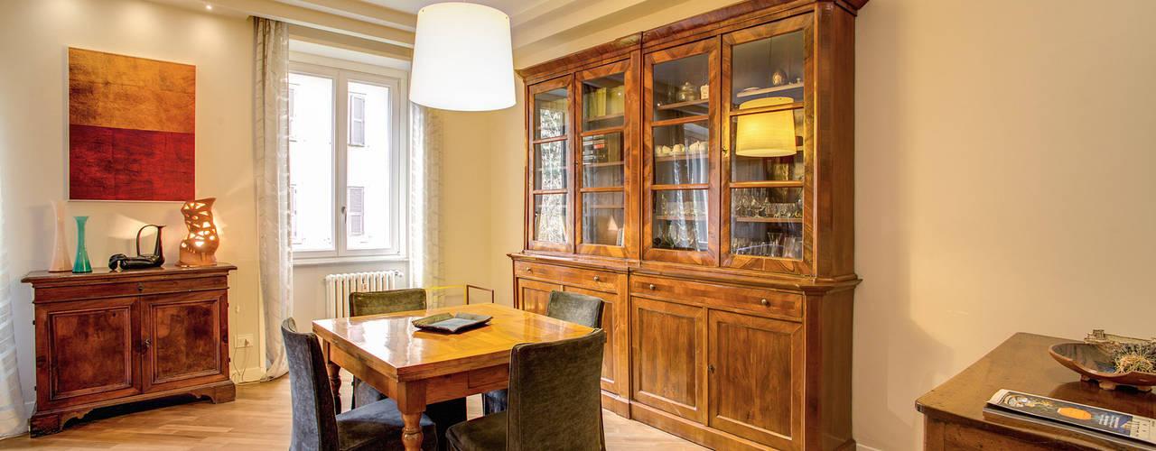 MOB ARCHITECTS Salas de jantar modernas
