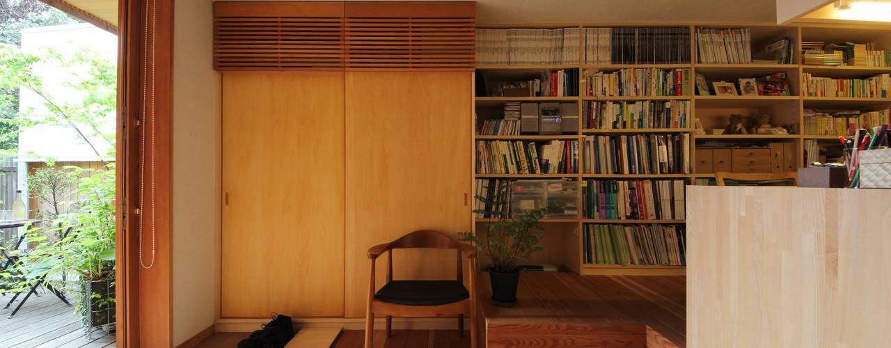 書房/辦公室 by 新井アトリエ一級建築士事務所