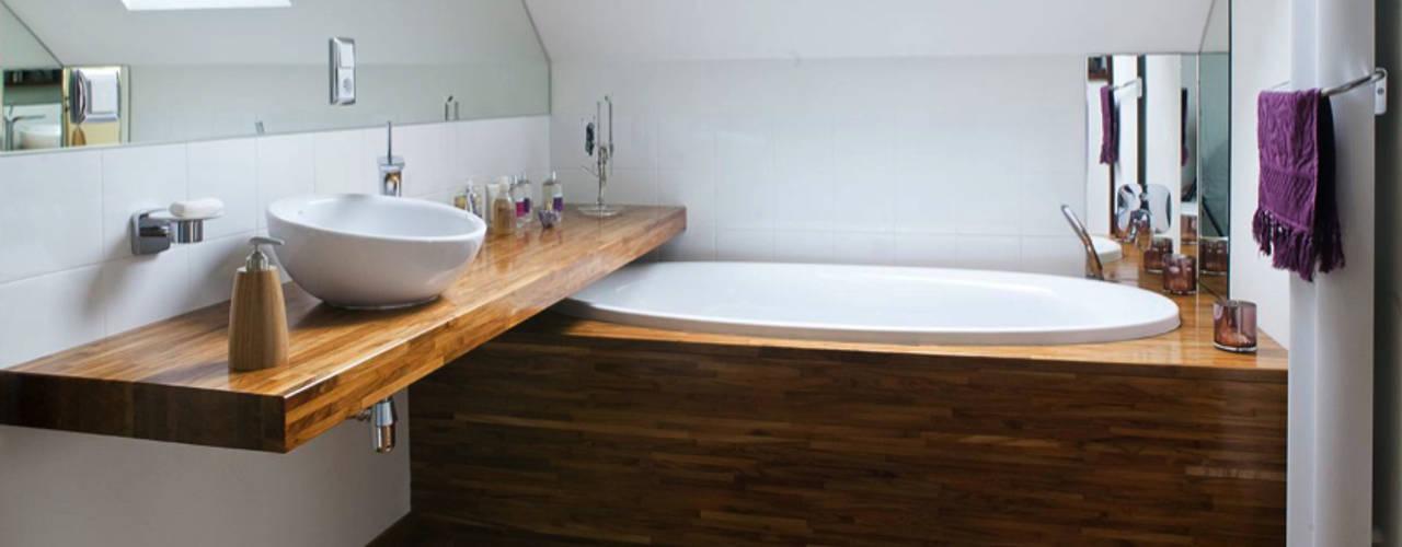 modern home: styl , w kategorii Łazienka zaprojektowany przez Anna Krzak architektura wnętrz