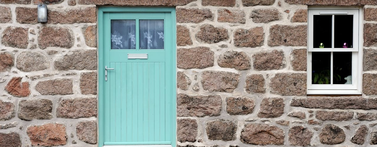 Old School Croft, Glen Dye, Banchory, Aberdeenhire Puertas y ventanas rurales de Roundhouse Architecture Ltd Rural