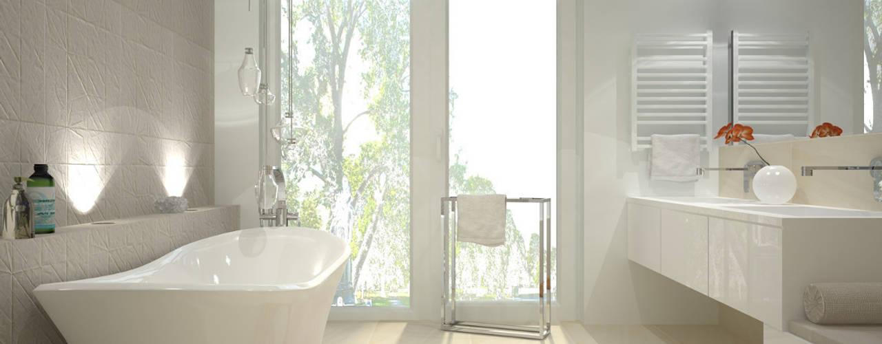 Bathroom by Kameleon - Kreatywne Studio Projektowania Wnętrz, Minimalist