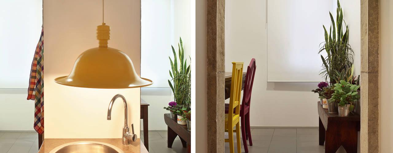 Apartamento A3_Reabilitação Arquitectura + Design Interiores: Cozinhas  por Tiago Patricio Rodrigues, Arquitectura e Interiores