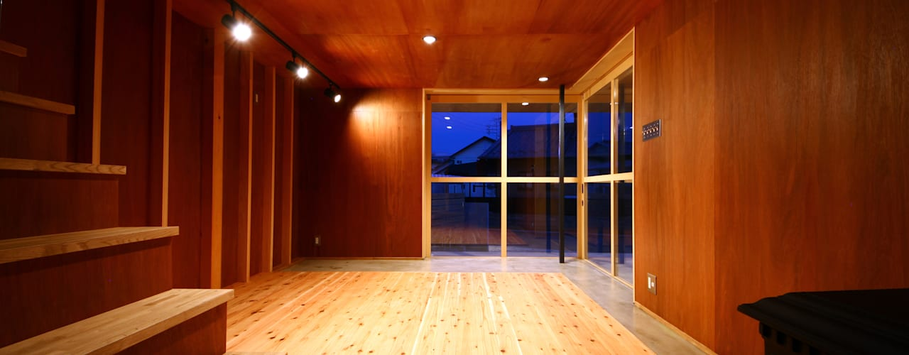 Minoyanagi house: TABが手掛けた和室です。,オリジナル
