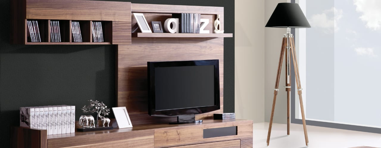 Trabcelona Design – polo tv ünite: modern tarz , Modern